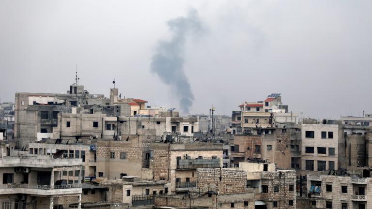 Десетки убити ирански бойци при въздушна атака в Сирия