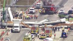 Мост се срути във Флорида. Има загинали