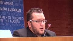 Мартин Карбовски говори пред Европарламента