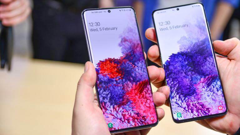 Новите Galaxy S20, S20+ и S20 Ultra на Samsung