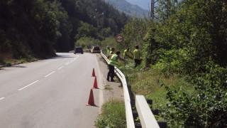 Започна ремонт на участъка от тежкия инцидент край Своге