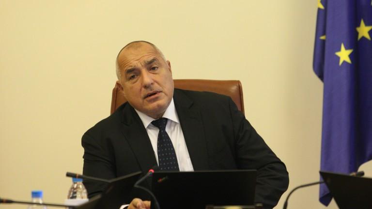 Премиерът и лидер на ГЕРБ Бойко Борисов не е разговарял