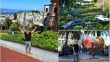 Лазар се разхожда по най-кривата улица в света