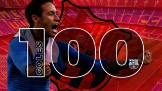 Неймар в Клуб 100 на Барселона! Бразилецът изпревари Меси, но и двамата са зад Христо Стоичков