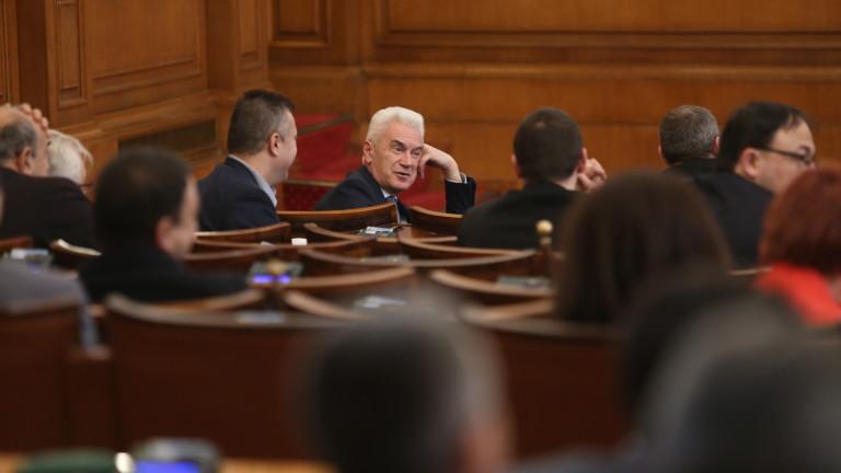 Председателят на ПГ ГЕРБ Цветан Цветанов е съгласен с вчерашната