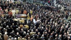 Погребаха митрополит Натанаил