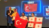 Министър Красен Кралев посети Световното първенство по канадска борба в Благоевград