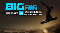 Сноуборд турнир на NESCAFE 3in1