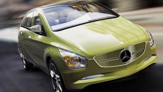 Mercedes BlueZero Concept – първи поглед към новия B-Class (галерия)