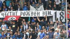 Полицията с масирана акция срещи хулигани на Левски и ЦСКА