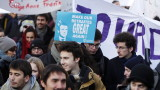 Малобройни демонстрации в Париж срещу пенсионната реформа на Макрон