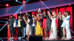 """Менторите пеят с полуфиналистите в """"Гласът на България"""""""