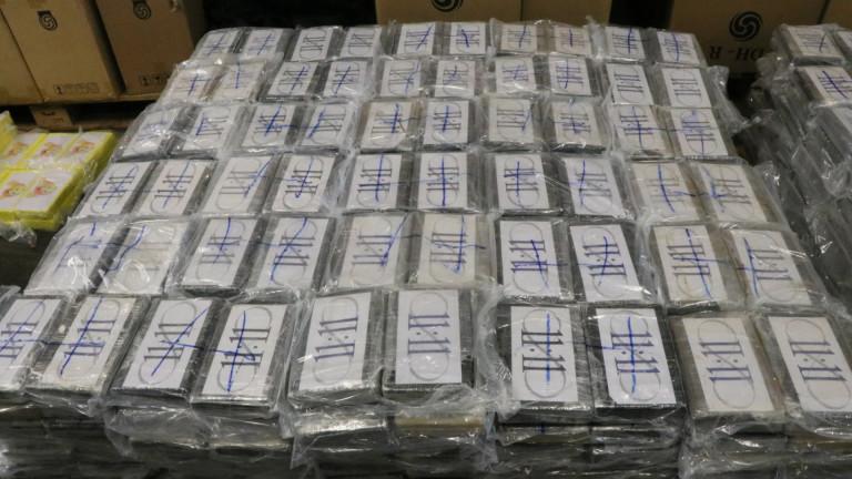 Германските власти съобщиха, че са заловили 4.5 тона кокаин на