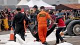 Изтеглиха записите от намерената черна кутия на падналия самолет в Индонезия