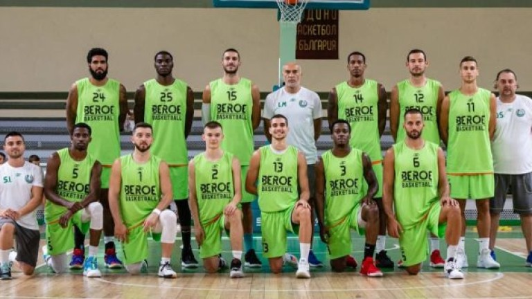 Берое записа първа победа в Националната баскетболна лига. При гостуването