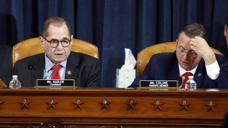 Правната комисия към Конгреса на САЩ препоръча импийчмънт на Тръмп