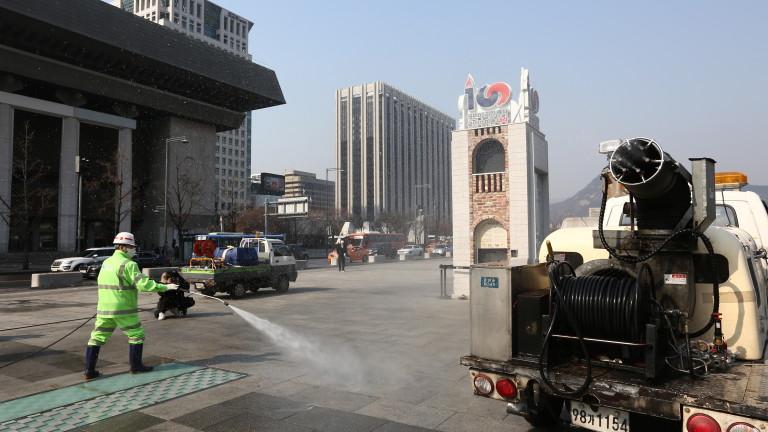 Южна Корея ще раздаде в спешен порядък средства на почти