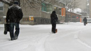 Четири минусови температурни рекорда са измерени в страната