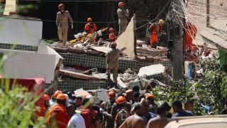 Срутване на сгради в Рио де Жанейро взе най-малко 5 жертви