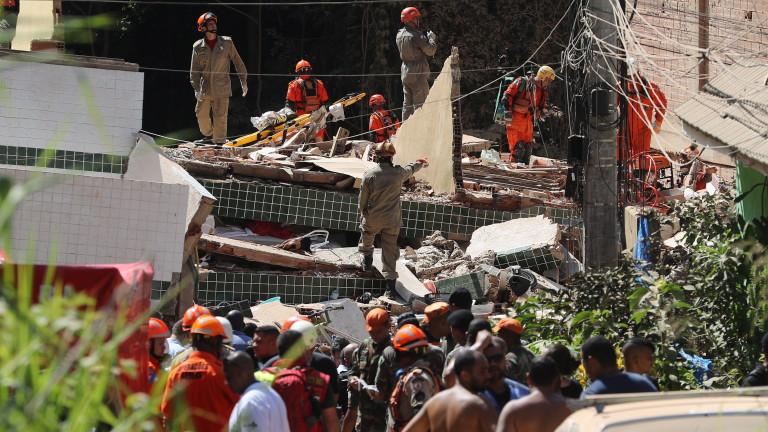 Рухнал тунел в Китай уби четирима, осем са в неизвестност