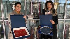 ЦСКА изцяло в бяло срещу Клуж