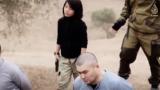 """""""Ислямска държава"""" пусна видео с екзекуция на двама """"руски агенти"""""""