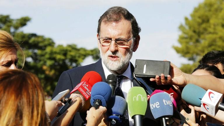 Рахой посещава протестираща Каталуния