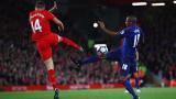 Голяма скука: Ливърпул - Манчестър Юнайтед 0:0 (Развой на срещата по минути)