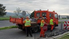 Пада блокадата на село Ясеновец