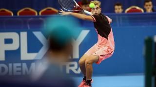 Адриан Андреев приключи участието си на двойки в САЩ