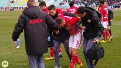 Добри новини за ЦСКА - Бодуров се размина с тежка травма