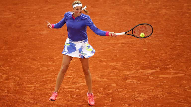 Квитова се класира за четвъртфиналите на турнира в Мадрид
