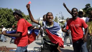 Хаитяните в атака