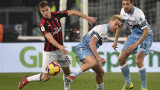 """Лацио и Милан не си вкараха на """"Олимпико"""" в първи полуфинал за Купата на Италия"""