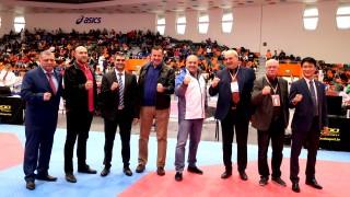 Зам.-министър Стоян Андонов откри международния таекуондо турнир Sofia Open 2019