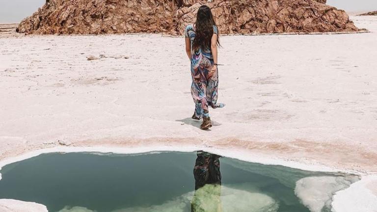 Оазис сред пустинята