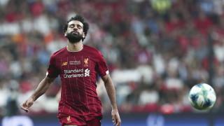 Мохамед Салах отново тренира с Ливърпул
