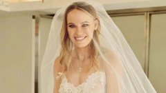 Каролин Вожнячки се венча на романтична церемония