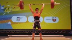 Ангел Русев с първа титла за България на Европейското по вдигане на тежести