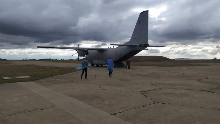 Излетя самолетът с пострадалите при тежката катастрофа край Лесово