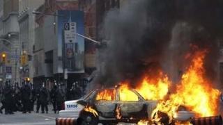 Сълзотворен газ срещу противниците на Г20