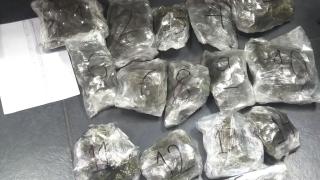 Семейство скрило 3 кг. марихуана под седалките на децата си