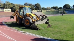 Стадионът в Русе няма да е готов за Левски