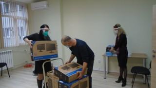 100 филиала на центровете за Спешна помощ получиха нови компютри