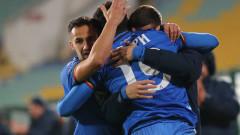 """Чакана """"синя"""" победа! Левски с първи успех за първенство под ръководството на Стоилов, Бари най-после вкара!"""