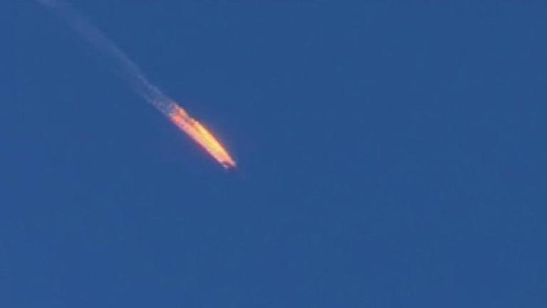 Предават на Русия тялото на убития руски пилот