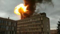 Силна експлозия и пожар в университет във Франция