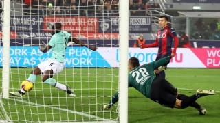 Лукаку донесе победата на Интер над Болоня
