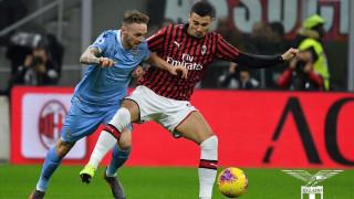 Милан - Лацио 1:2, гол на Кореа