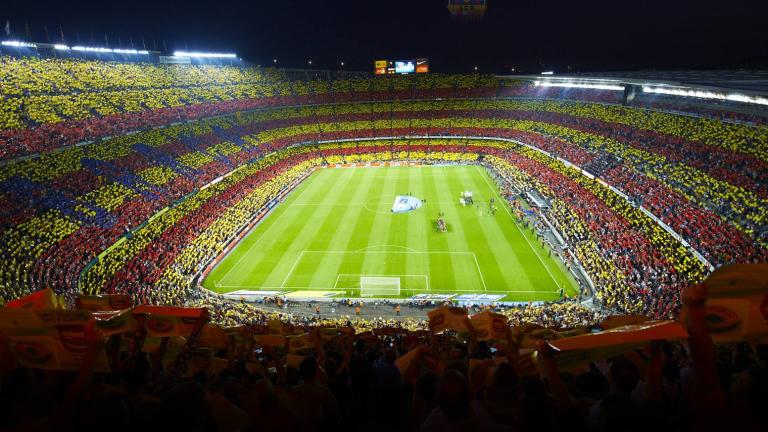Барса е най-посещаваният домакински отбор